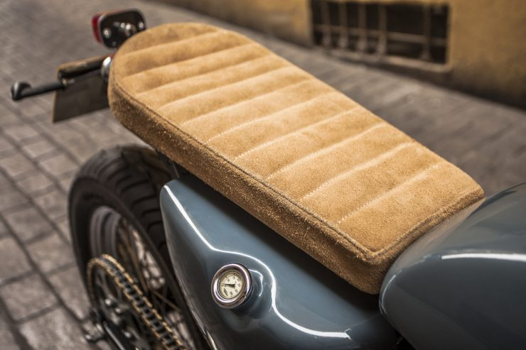 Harley Davidson Seat 740x493 - XTR Pepo Harley-Davidson Sportster Street Tracker