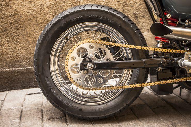 Harley Rear Wheel 740x493 - XTR Pepo Harley-Davidson Sportster Street Tracker