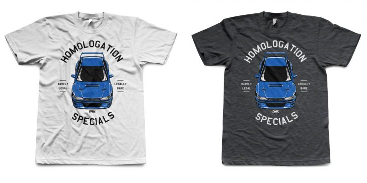 Homologation Specials 22B Shirt by DNBK