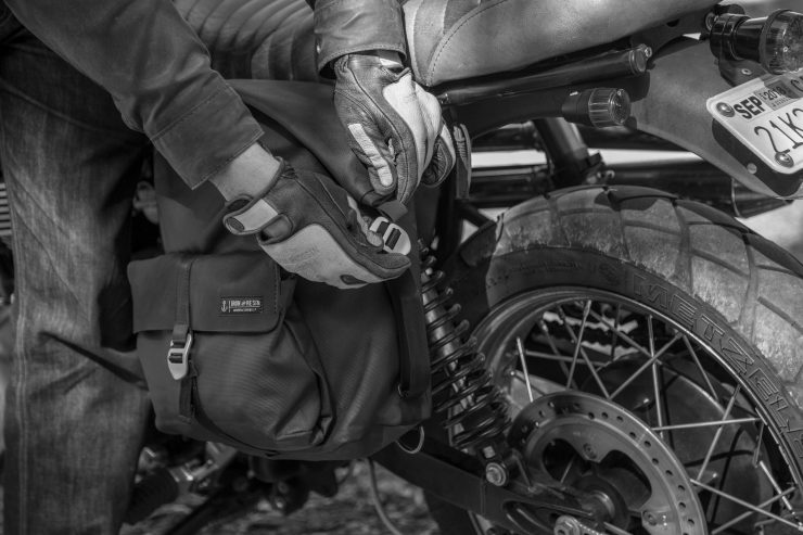 Iron & Resin Moto Pannier Bag