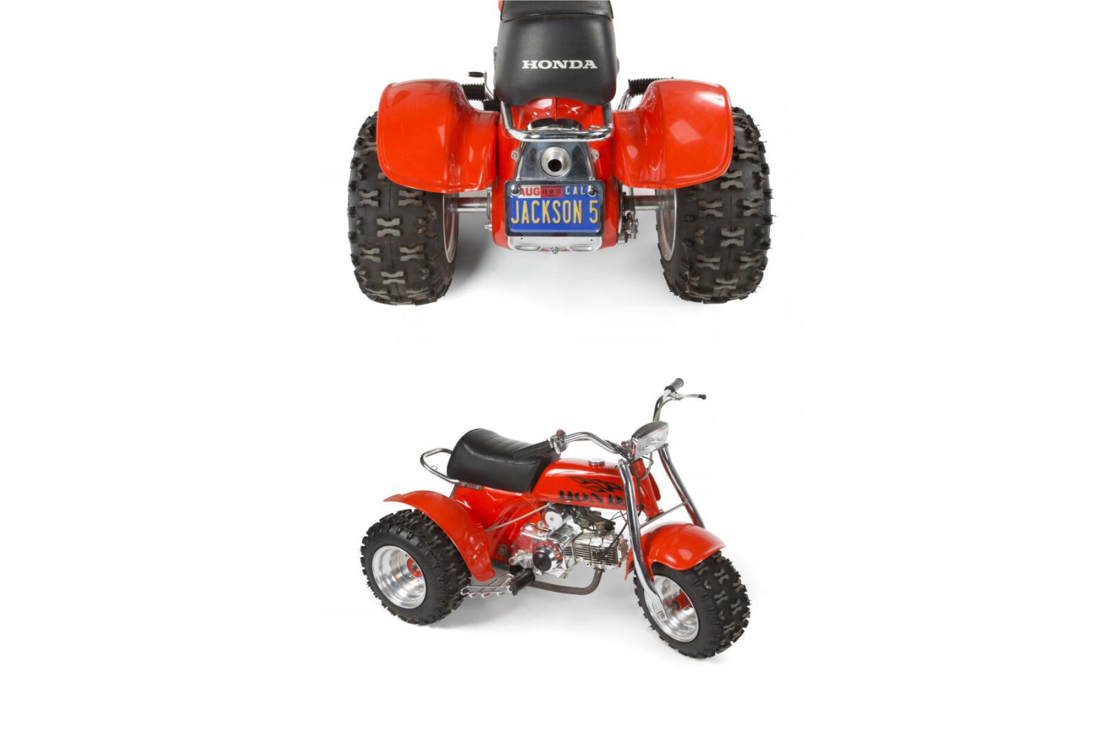 Jackson 5 Honda ATC70 Three Wheeler