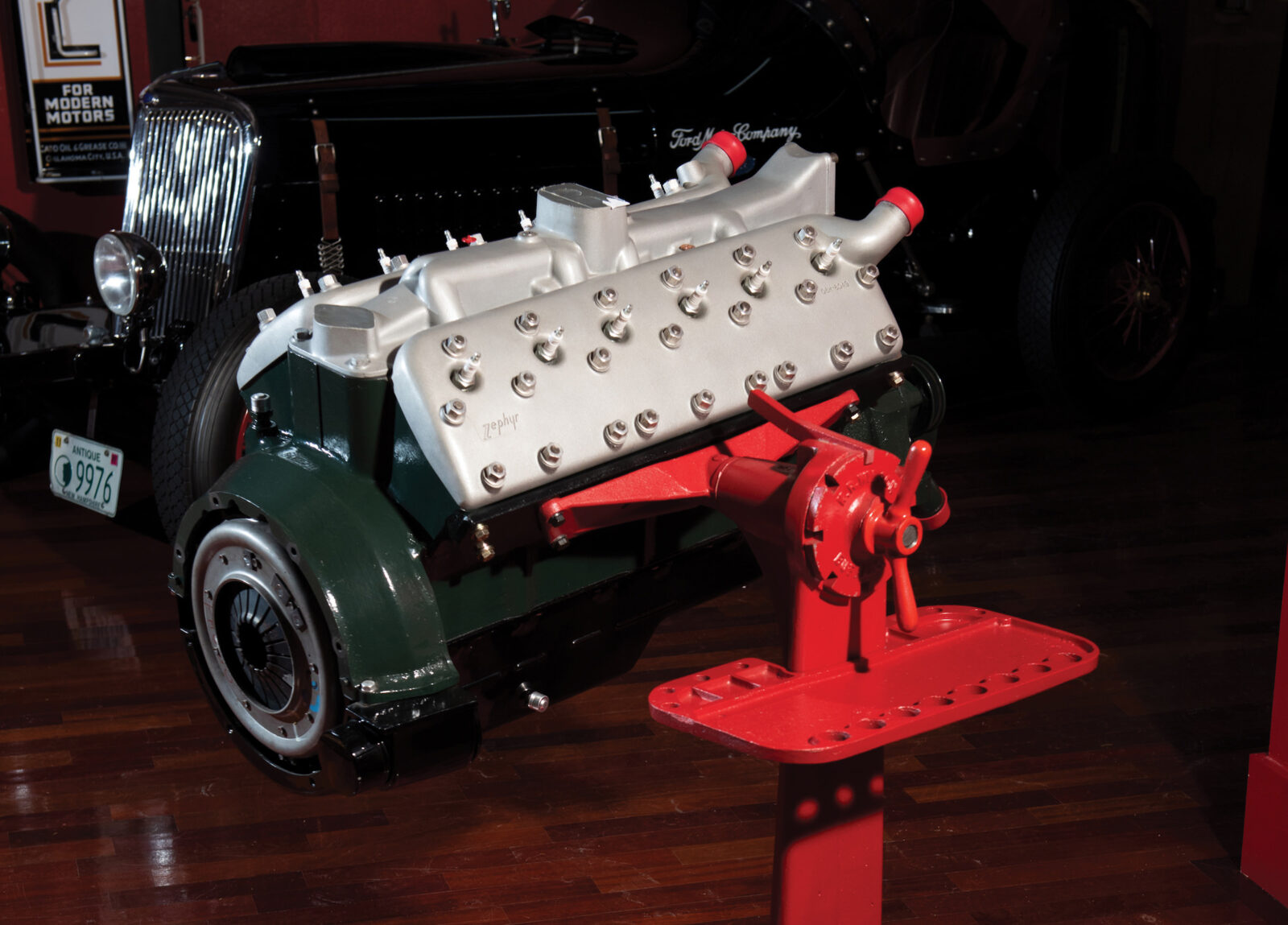 A Crate Engine With Difference Roush Built Lincoln Zephyr V12