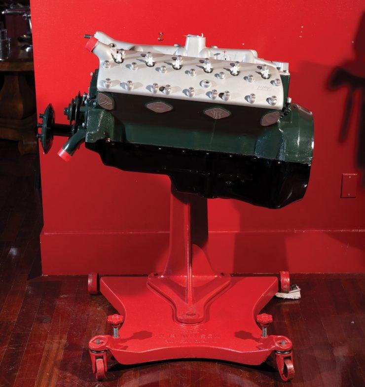 Lincoln-Zephyr V12 Engine Rebuilt