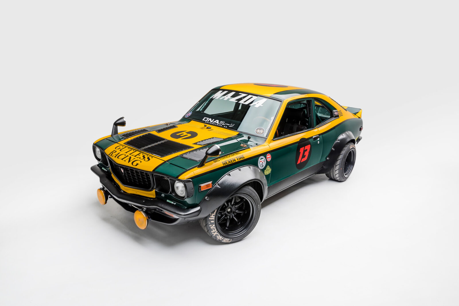 dna garage mazda rx 3 race car 400 bhp triple rotor. Black Bedroom Furniture Sets. Home Design Ideas