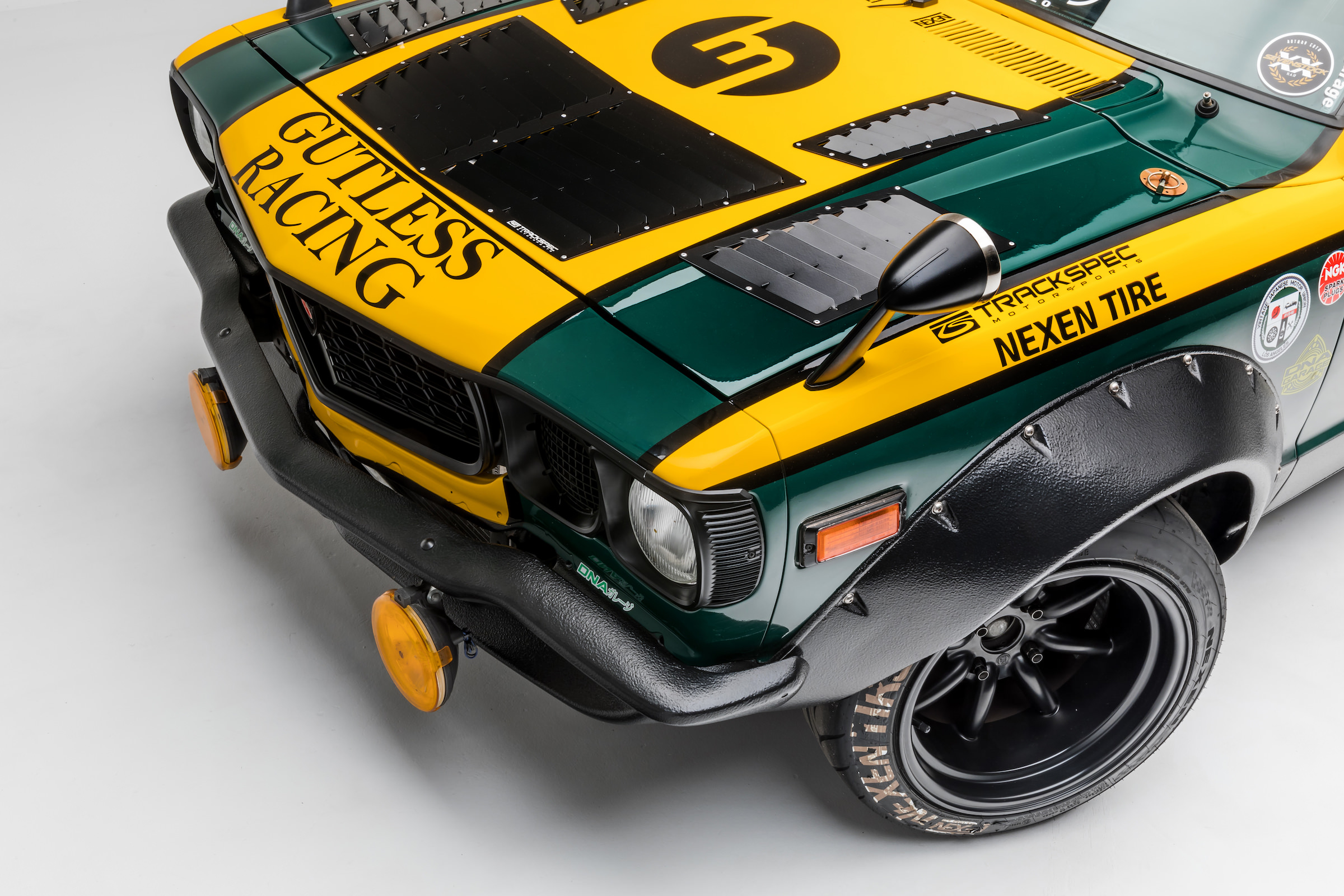 Petersen Automotive Museum >> DNA Garage Mazda RX-3 Race Car - 400 bhp Triple Rotor