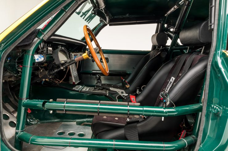 Mazda RX-3 Race Car Interior 2