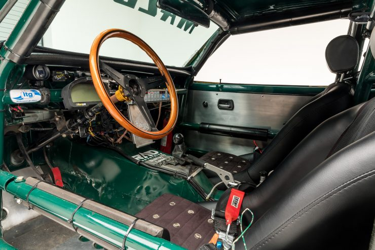 Mazda RX-3 Race Car Interior