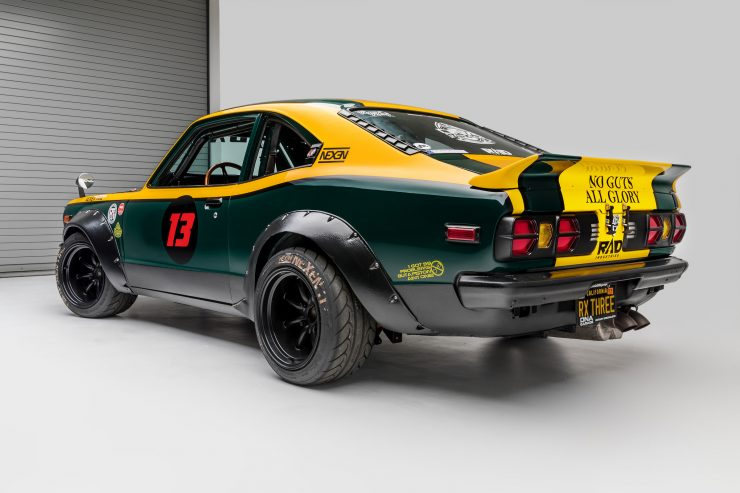 Mazda RX-3 Race Car Rear 2