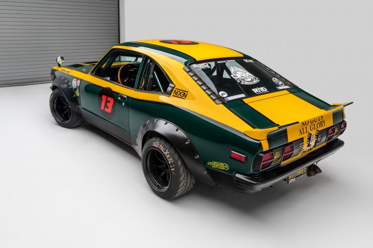Mazda RX-3 Race Car Rear