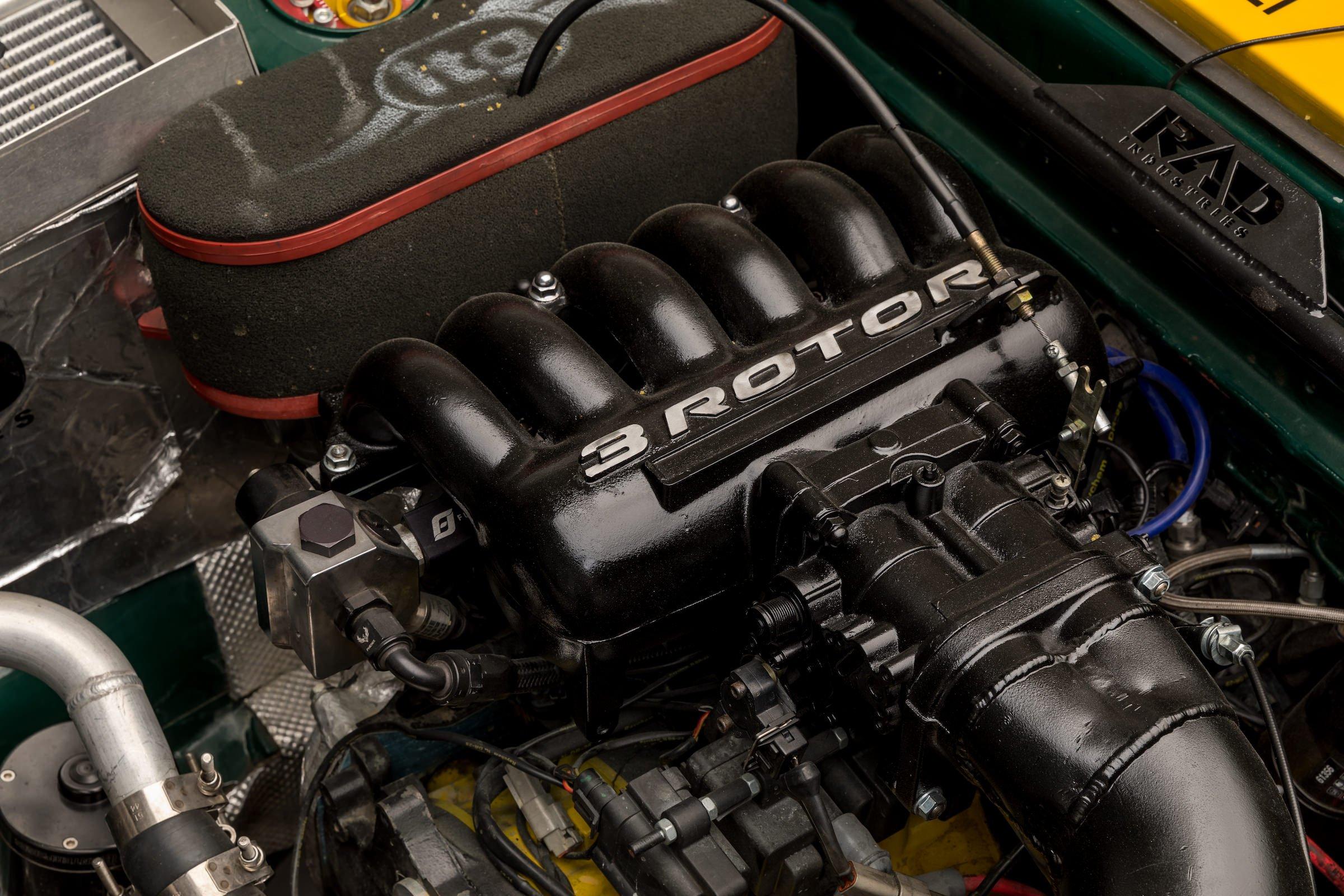 DNA Garage Mazda RX-3 Race Car - 400 bhp Triple Rotor