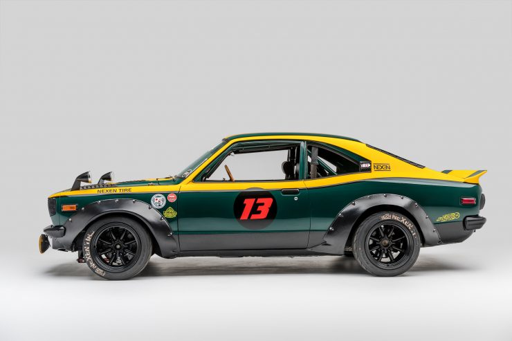 Mazda RX-3 Race Car Side