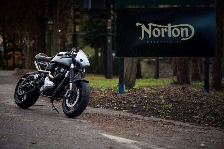 Norton Dominator Cafe Racer