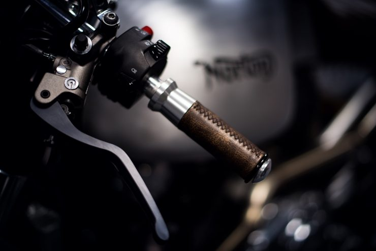 Norton Motorcycle Grips