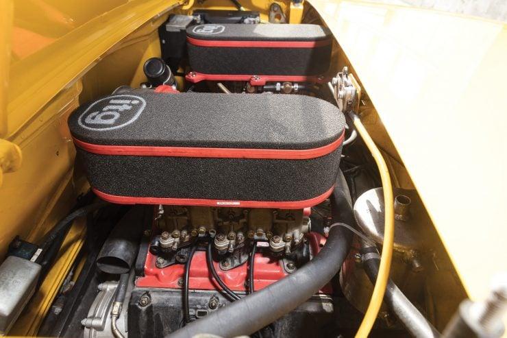 Porsche 914/6 Engine
