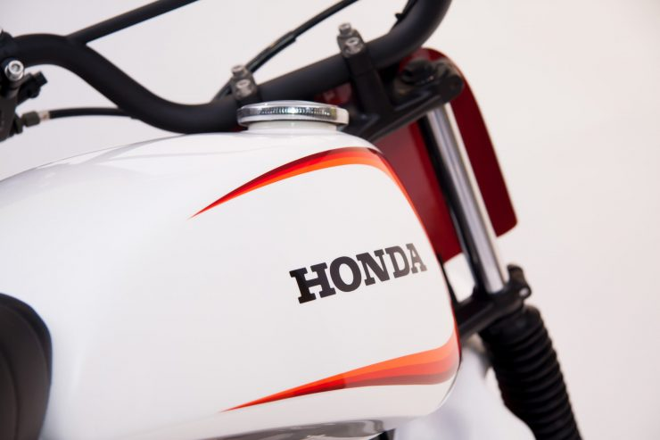 Retro Honda Gas Tank