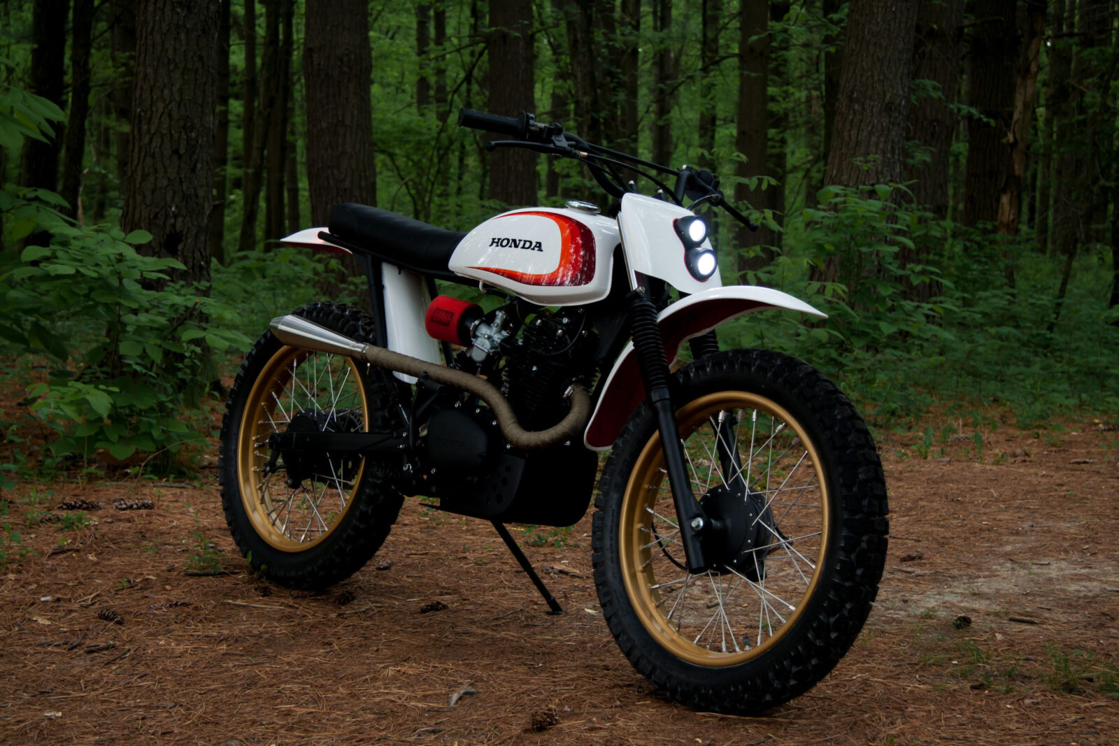The Slipstream Creations Retro Honda Enduro Chimera