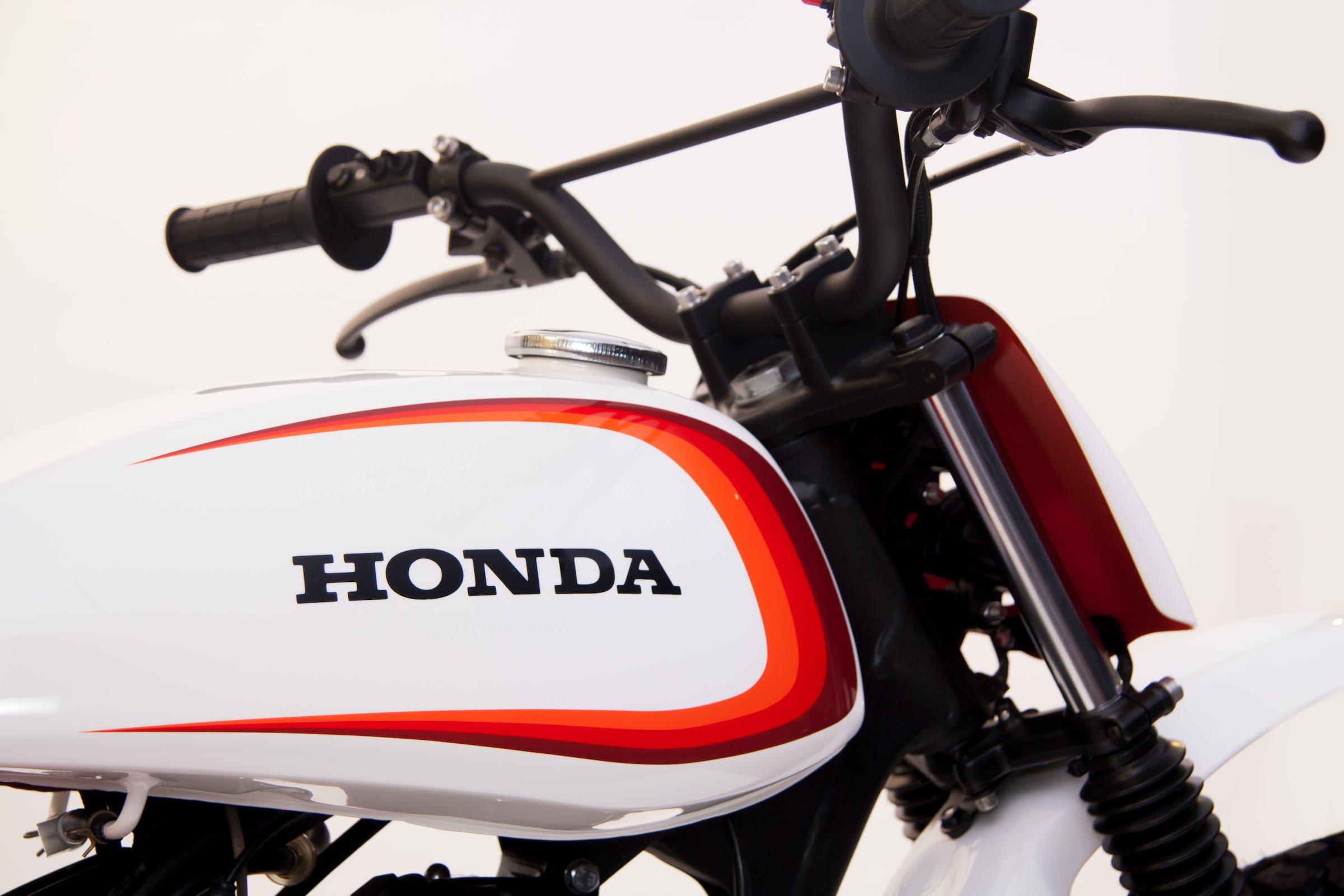 Honda Logo Retro Enduro