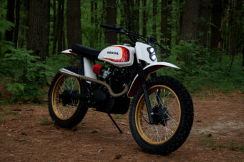 Retro Honda Enduro