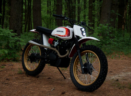 Retro Honda Enduro
