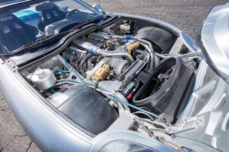 Shelby Series 1 Aurora V8 Engine