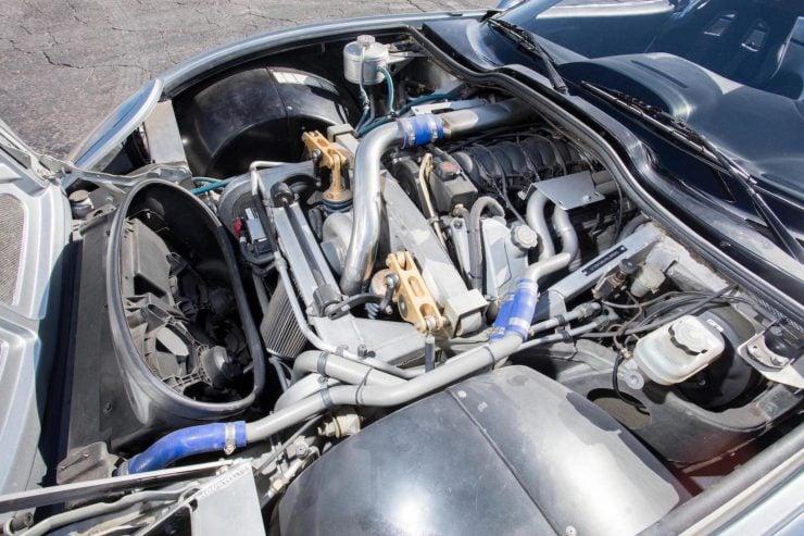 Shelby Series 1 V8 Engine