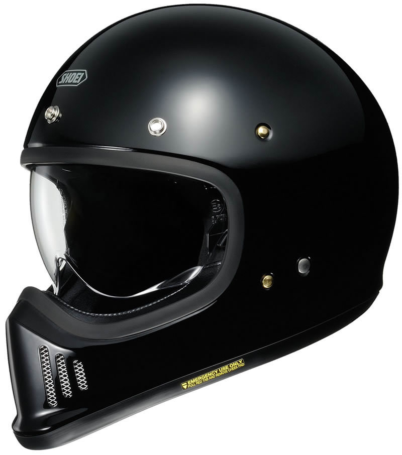 The New Shoei EX-Zero Helmet - Modern Safety, Retro Looks