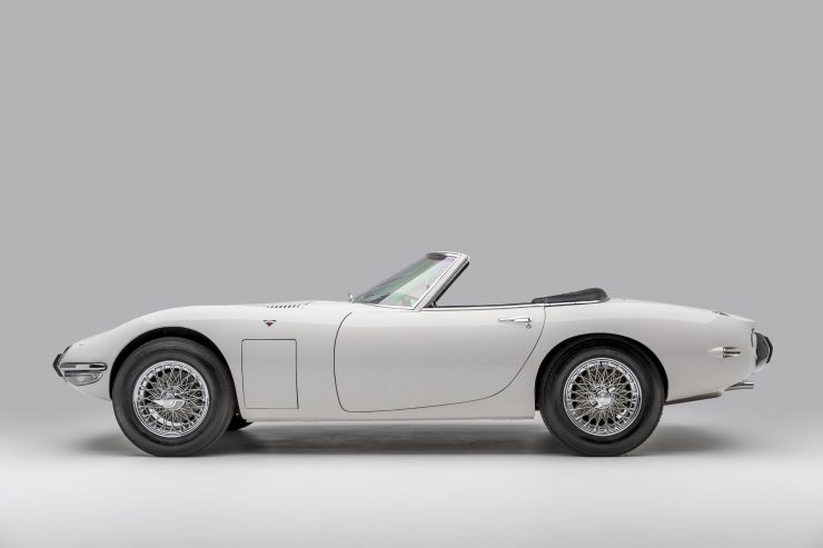 Toyota 2000GT Roadster Left Side
