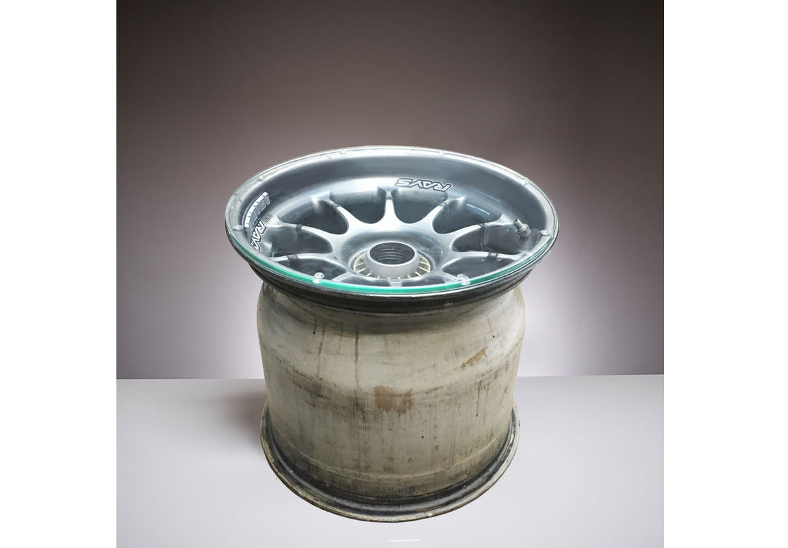 Williams F1 Forged Magnesium Wheel Coffee Table