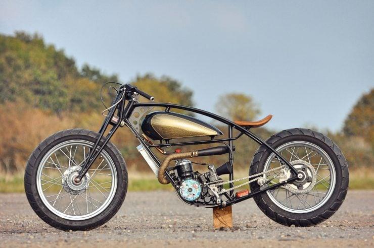 Custom GasGas Motorcycle