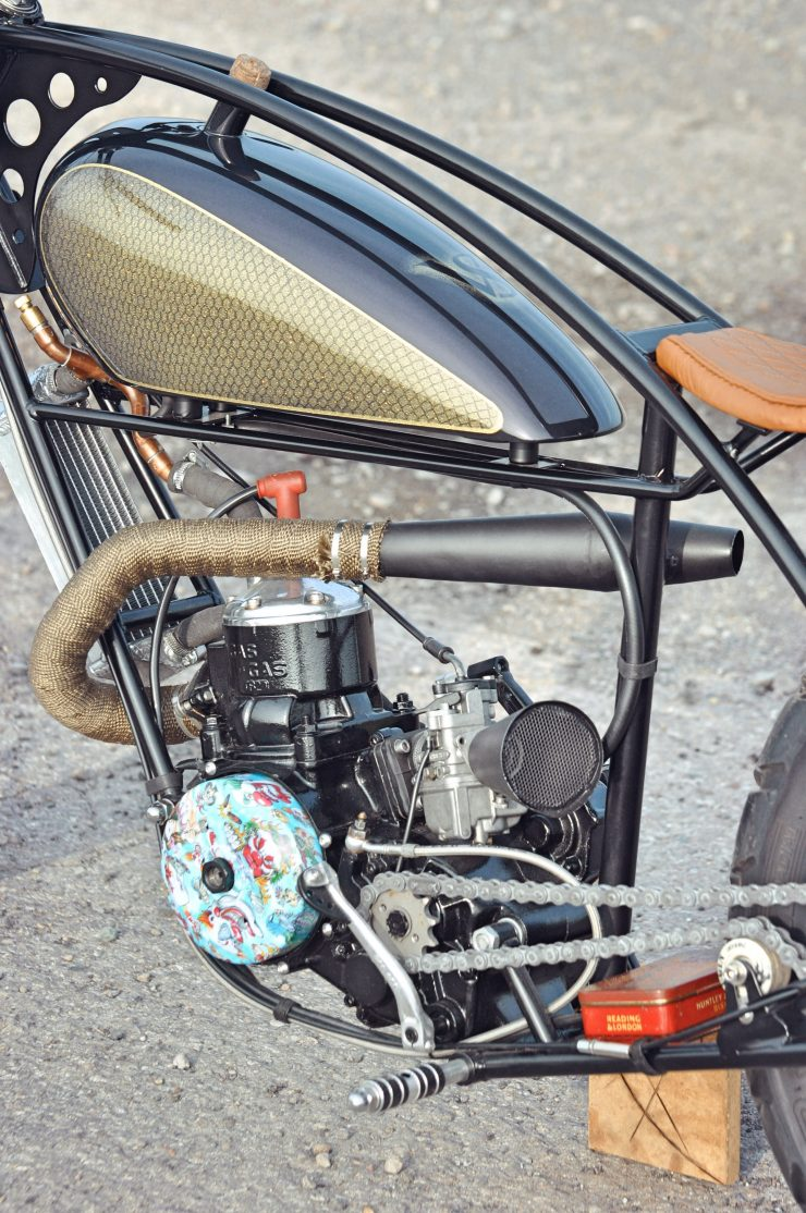 Wrapped Exhaust