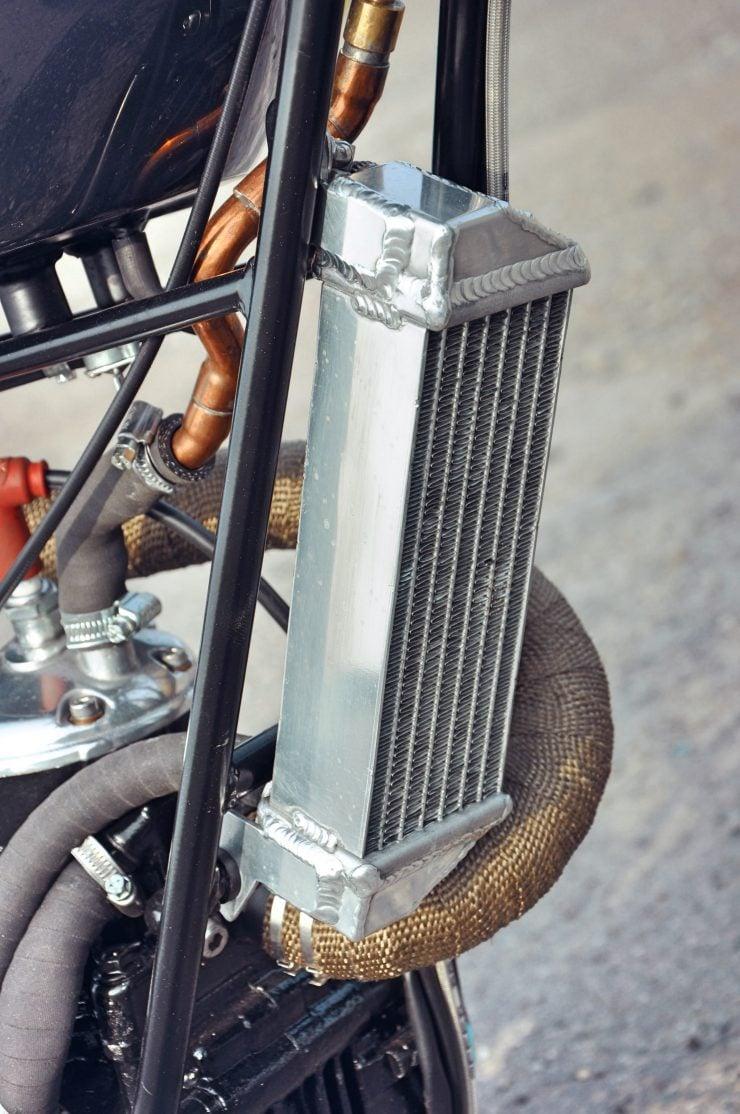 Motorcycle Radiator