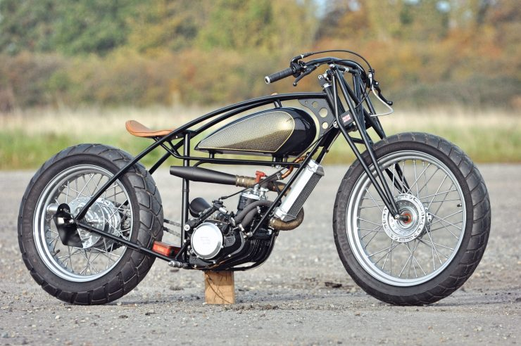 Custom GasGas Motorcycle