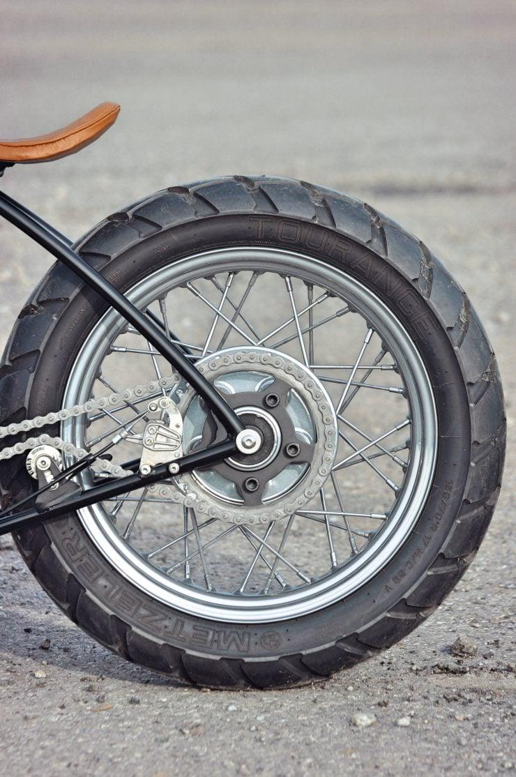 Motorcycle Rear Wheel