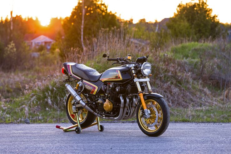dB Customs Honda CB985F Evolution
