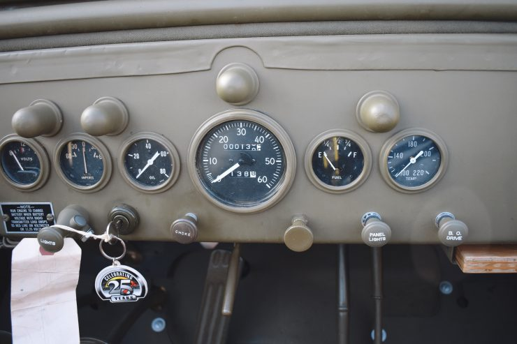 Dodge Command Car Dash