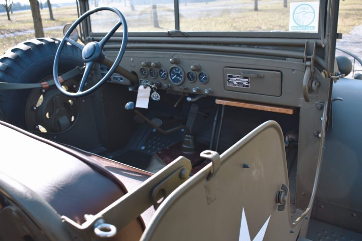 Dodge Command Car Interior