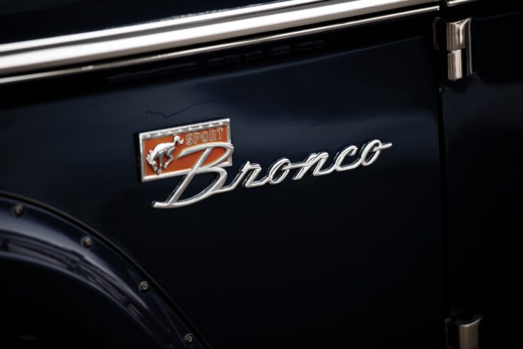 Ford Bronco Badge