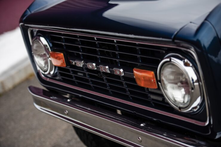 Ford Bronco Grille