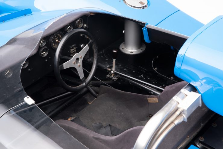 Nissan R382 Cockpit