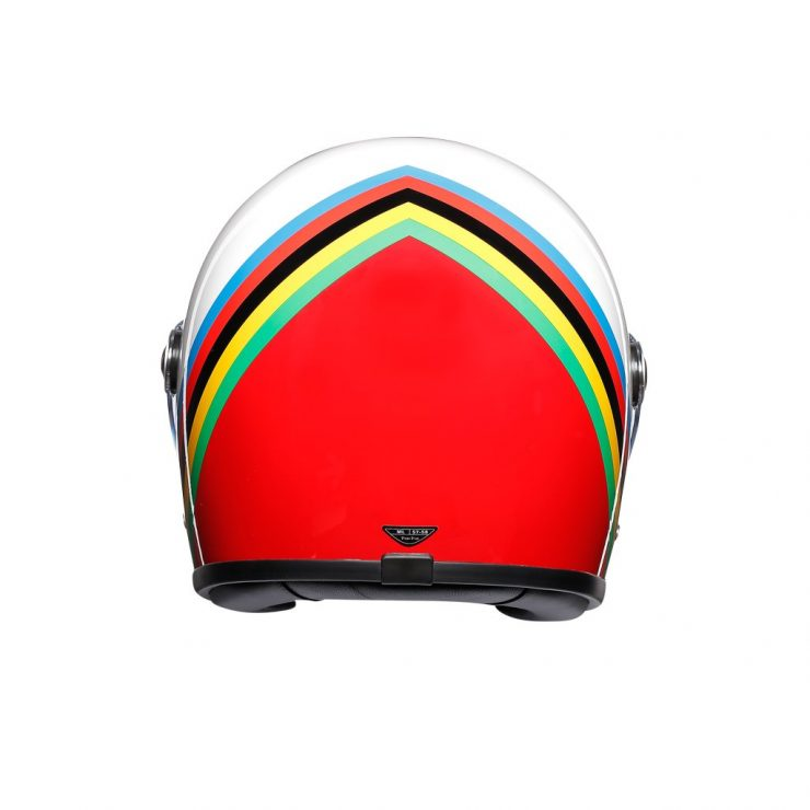 AGV X3000 Gloria Helmet Back