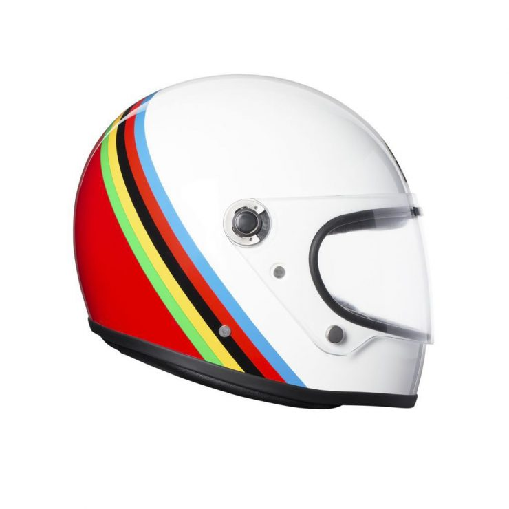 AGV X3000 Gloria Helmet Side