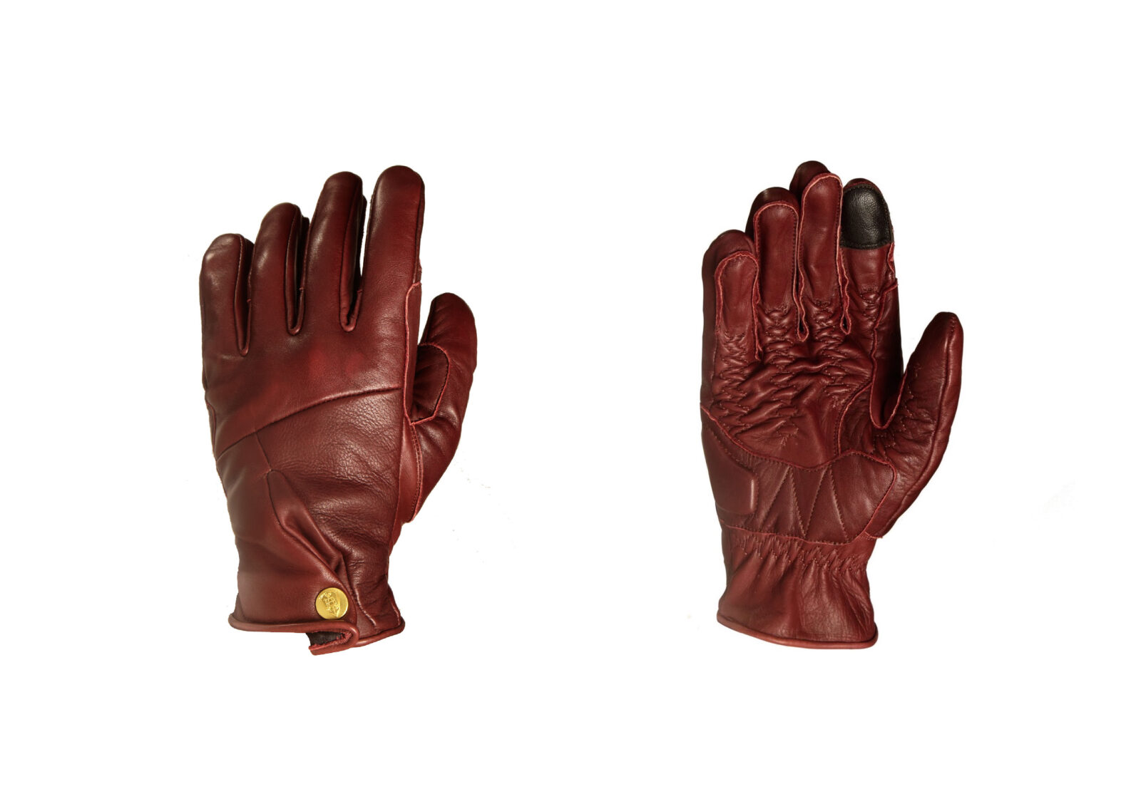 Abel Brown Mada Motorcycle Gloves