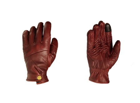 Abel Brown Mada Motorcycle Gloves