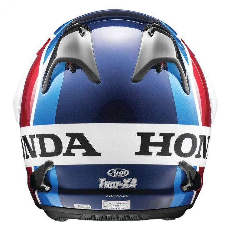 Arai XD-4 Africa Twin Helmet Back