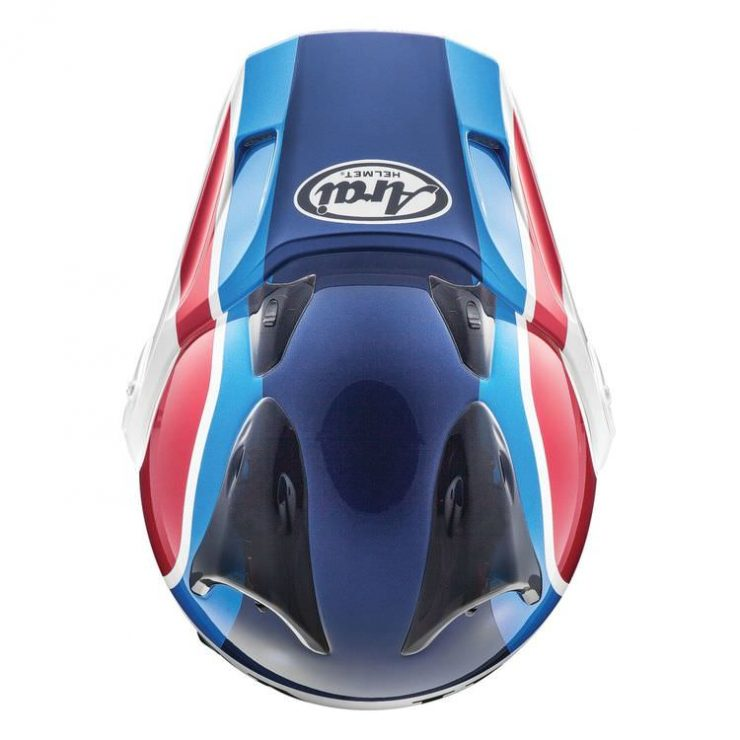 Arai XD-4 Africa Twin Helmet Top
