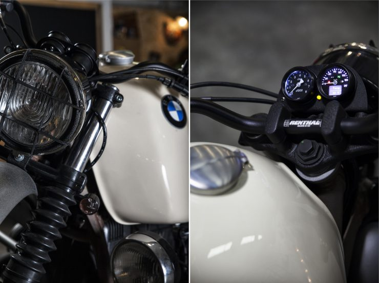 BMW R100 RS Collage