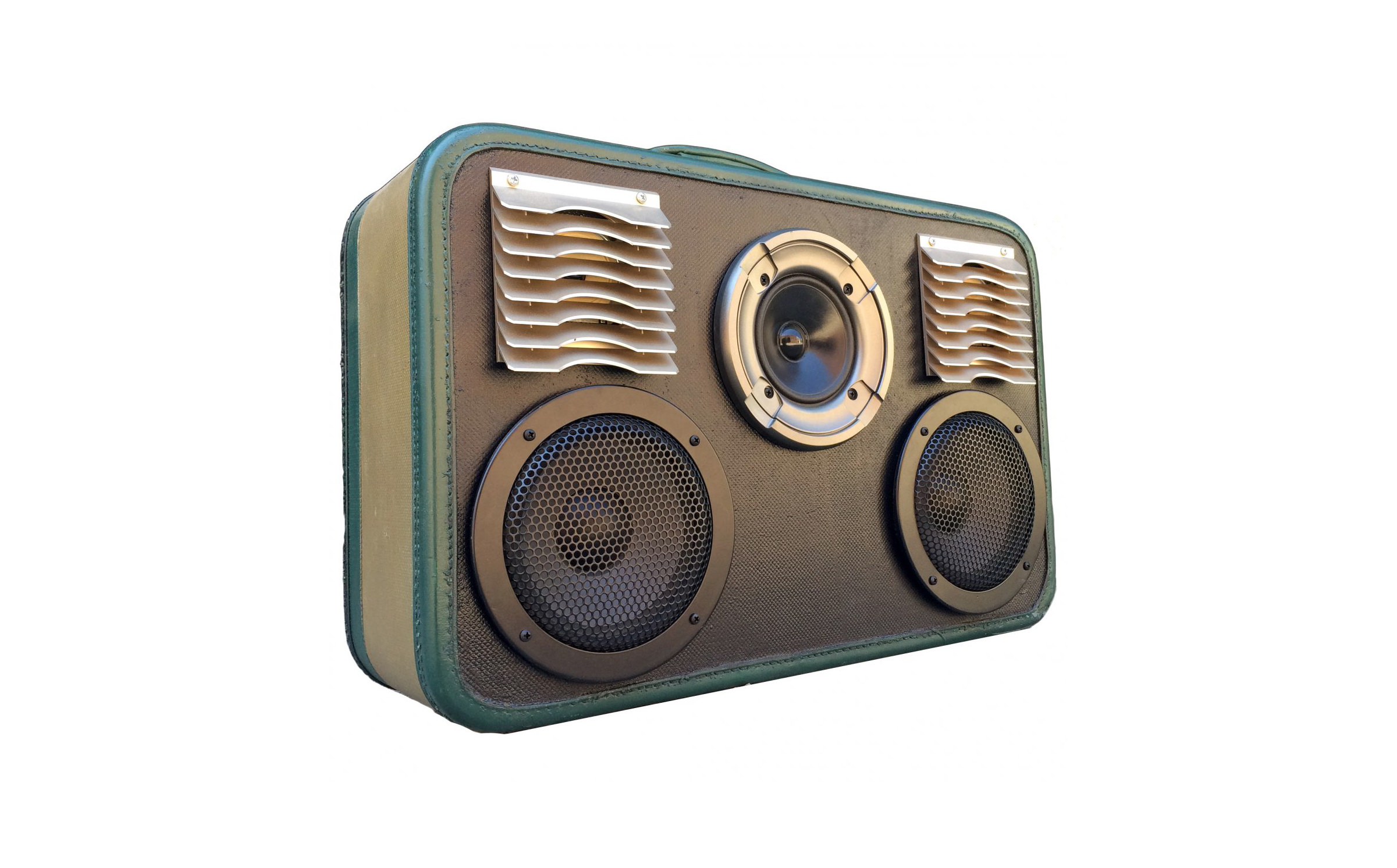 BoomCase Suitcase Stereo