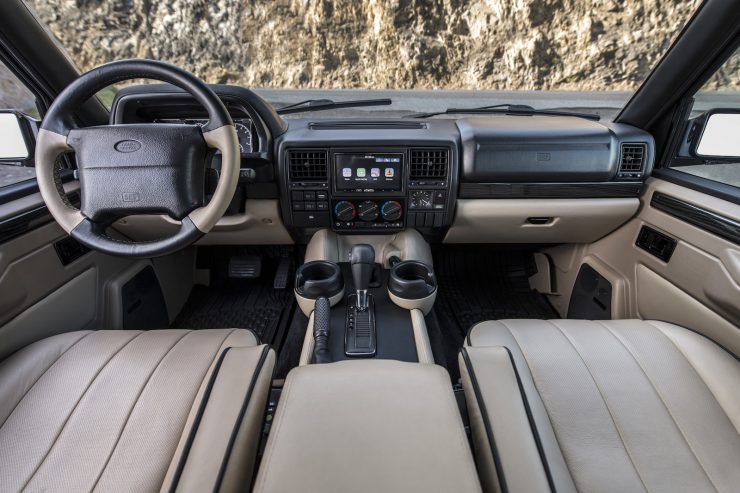 Custom Luxury Range Rover Interior 2