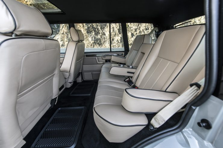 Custom Luxury Range Rover Interior 5