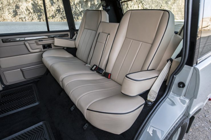 Custom Luxury Range Rover Interior 6